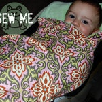 DIY Baby Gift | Easy Car Seat and Stroller Baby Blanket Pattern | Professional Pattern Pcs | Best DIY Baby Shower Gift | Immediate Download