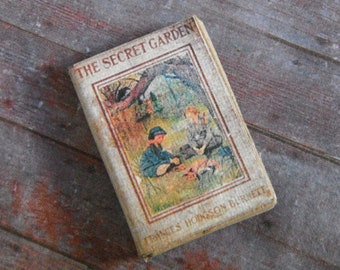 Miniature Book --- The Secret Garden
