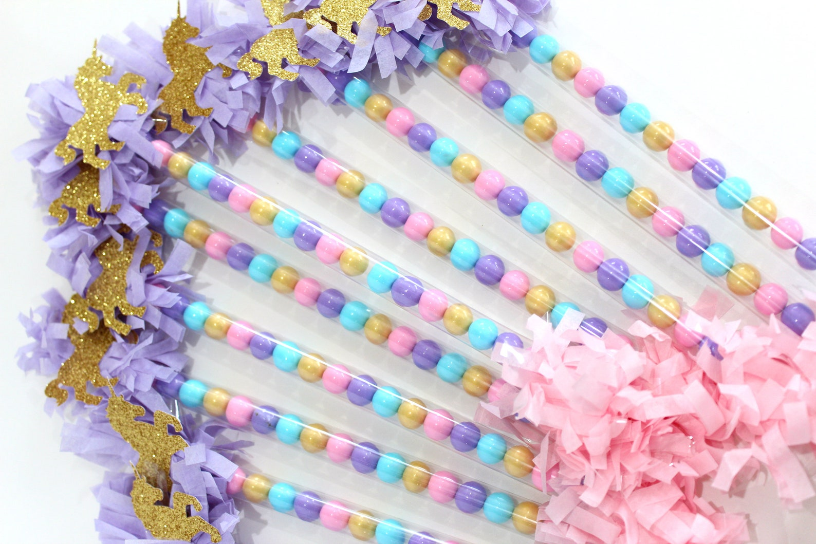 Unicorn Candy Wands