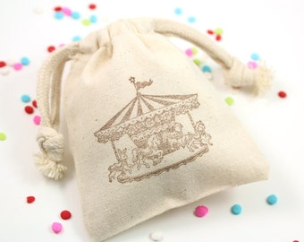 Carousel Favor Bags - Set of 10