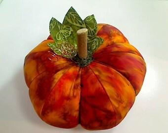 Size 9 |Orange Pumpkin |Halloween Pumpkin |Fabric Pumpkin |Thanksgiving Decor |Pumpkin Decoration | Fall pumpkin | Home decor Pumpkin | #14