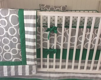 Baby Bedding Crib Sets Adventure Awaits Mountains Trees