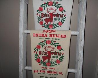 Christmas towel, Hand Towel,Tea towel, Dish towel, Flour sack towel, Cotton hand towel, Kitchen Towel , Deer Towel, vintage french look