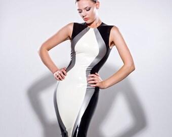 8c019fb411 Lady Lucie Latex Contour Dress