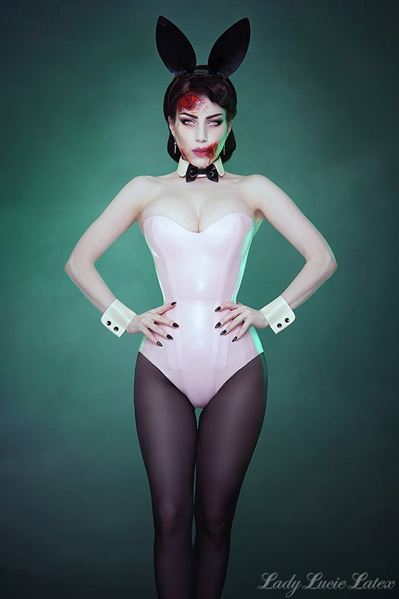 ccc285ca5a Bunny Girl Set by Lady Lucie Latex