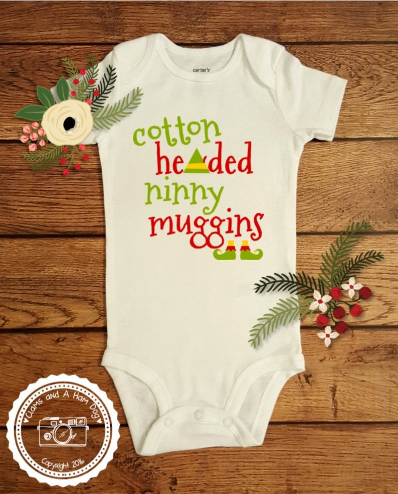 4aede6284 Elf Cotton Headed Ninny Muggins Christmas Shirt Elf Movie