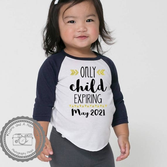 Only Child to Big Brother Birth Announcement Toddler//Kids Long Sleeve T-Shirt 5//6 Red