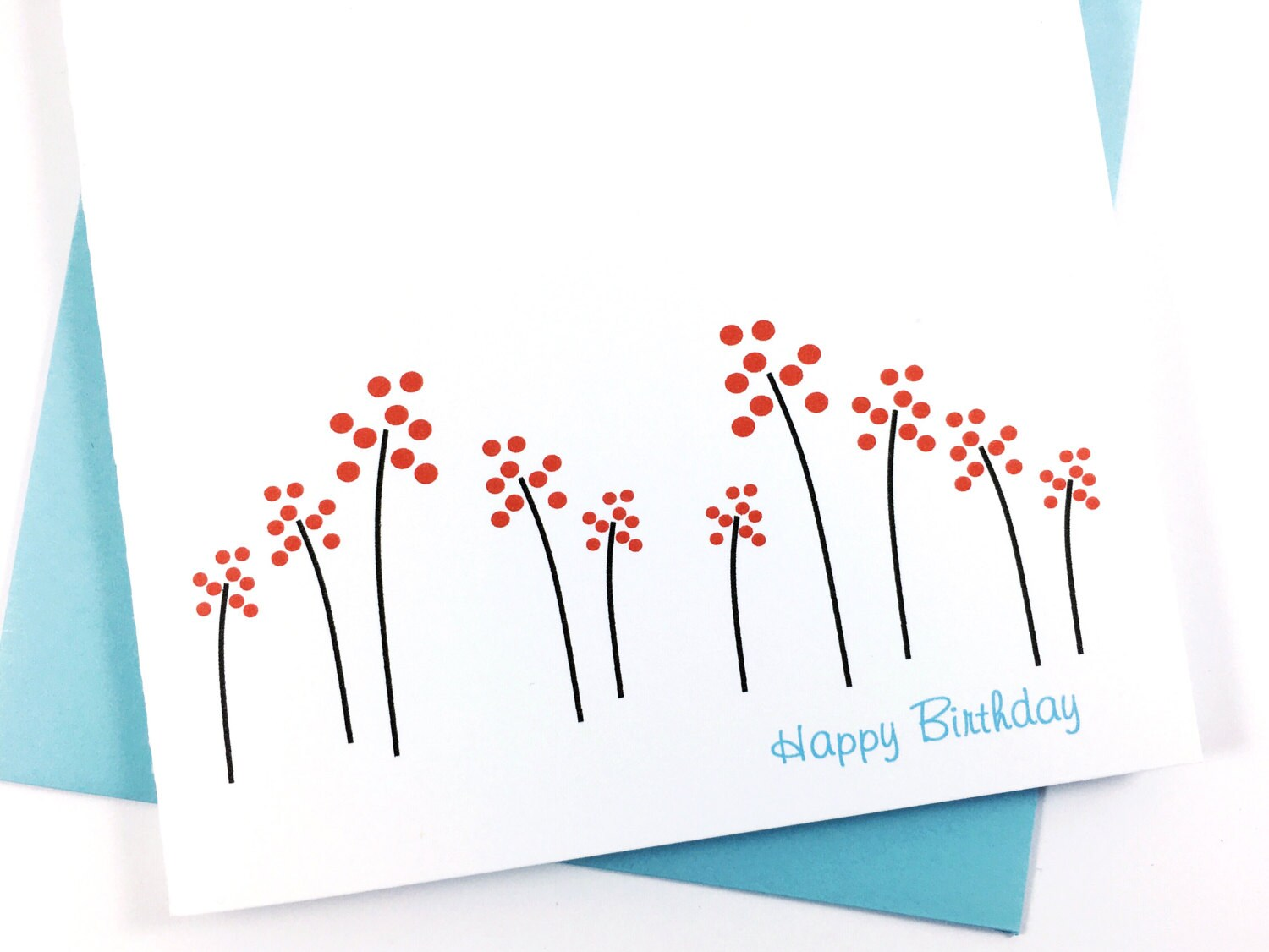 Spring Birthday Card Floral Card For Mom Greeting Card For