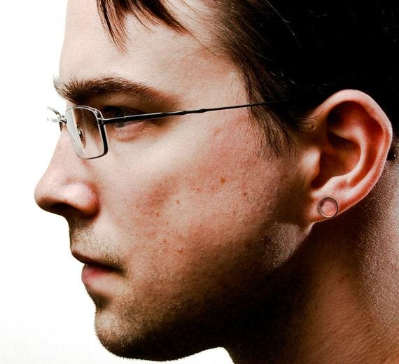 60aeaade2 Silver meridian stud earrings men's stud earrings | Etsy