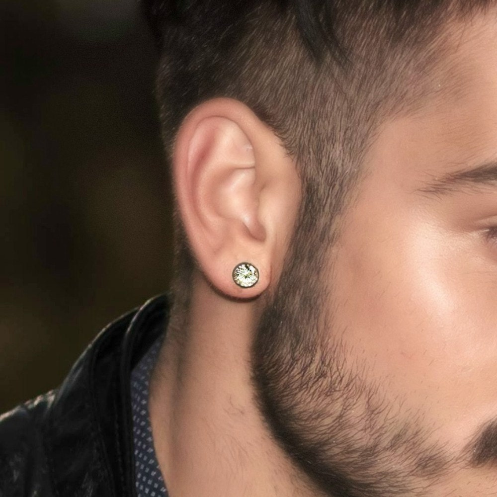 Earring Diamond studs men
