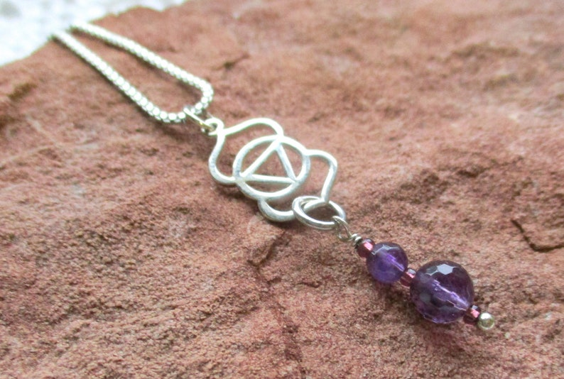 3rd Eye Chakra Charm Necklace