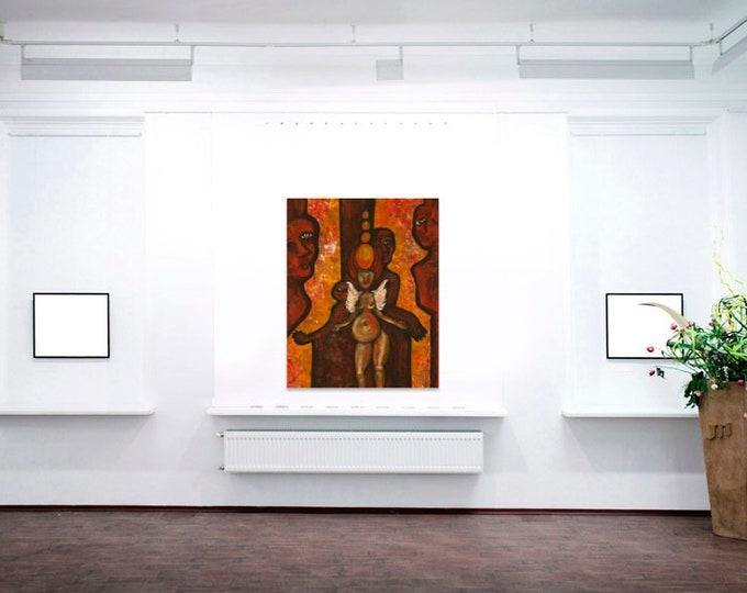Original Art Painting for Digital Download