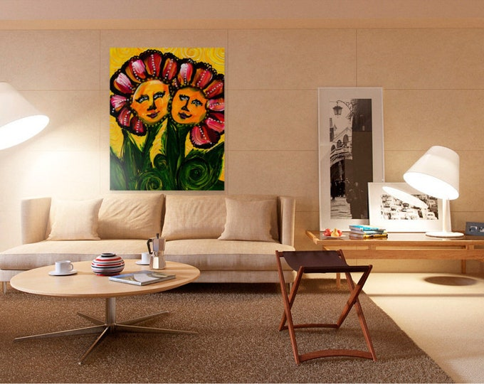 Digitized Original Art Painting for Digital Download