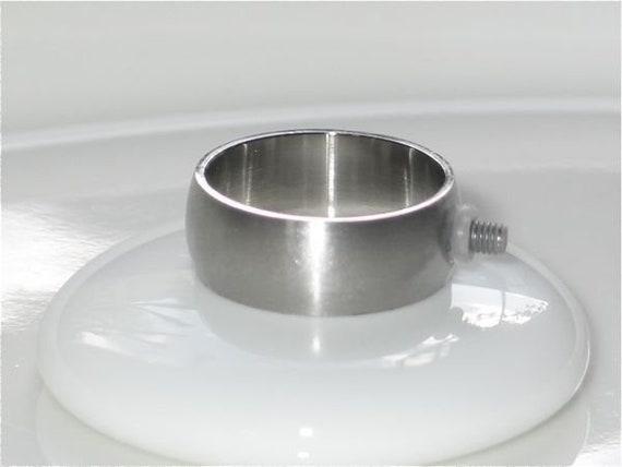 Wechselring, Edelstahl, 8 mm breit, Ring für Wechselsystem M2.5