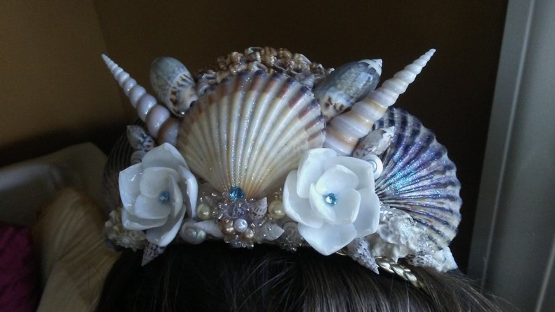 Custom Mermaid Tiara Choose Your Style & Color Scheme image 0