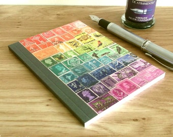 Rainbow Print Address Book & Birthday Book