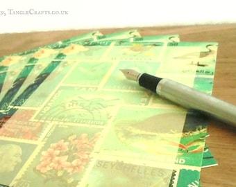 Ocean Deep Writing Paper Set - optional notecards, wallet, or storage box