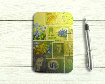 Spring Greens Hinged Storage Tin for A6 Stationery