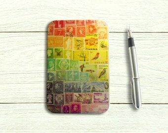 Rainbow Hinged Storage Tin for A6 Stationery