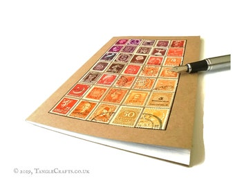 Sunset Ombre - A5 Definitive Stamp Album Notebook