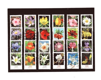 Garden Flowers on postage stamps, Germany 2005 -