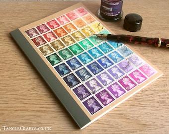 A5 Rainbow Machin Notebook