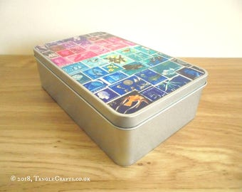 Midnight Sea Memento Tin - Anniversary Gift, Office Gift, Travel Gift