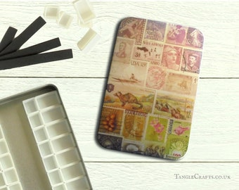 Heather Hills DIY watercolour tin with hinged lid - A6 size