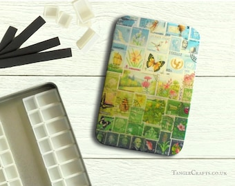 Happy Valley DIY watercolour tin with hinged lid - A6 size