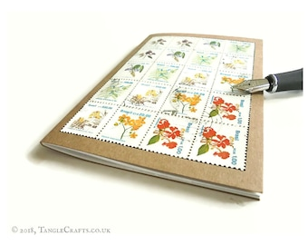 Brazil Native Flowers - Gardening Notebook or Travel Journal