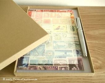 Luxury Writing Paper & Pen Gift Set • Boxed Letter Writing Kit