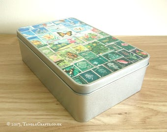 Happy Valley Storage Gift Tin - Tenth Anniversary Gift Idea