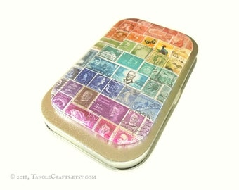 Rainbow Fridge Magnet & Tin Gift Set