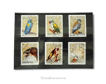 Birds, Postage Stamp Selection - Part Set Manama 1972