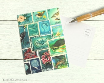 Ocean Deep, Set of 8 Postcards