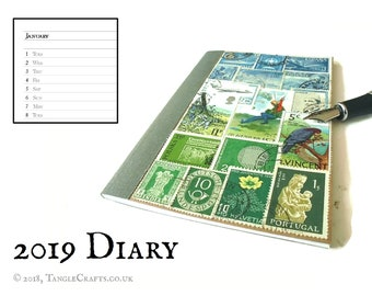 Summer Landscape - 2019 Month Planner Diary
