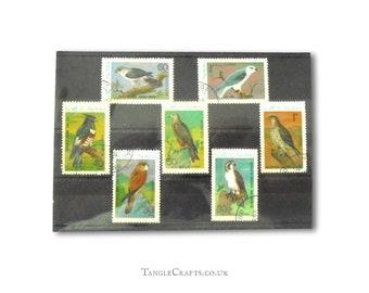 Birds of Prey Postage Stamps - part set, Vietnam 1982