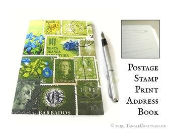 Spring Greens A5 Address Book