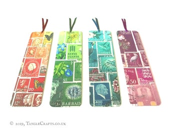 Aluminium Bookmark Set - Stamp Art Rainbow Collection