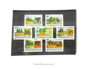 Trees & Landscape Postage Stamps, 1982 set