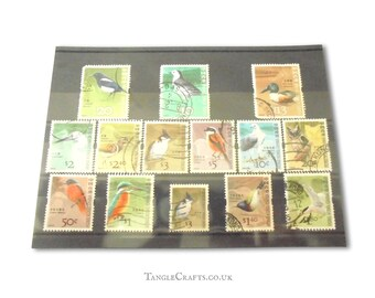 Hong Kong birds, used stamp selection, circa 2006