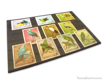 Exotic Birds Stamp Set - Ajman, 1969
