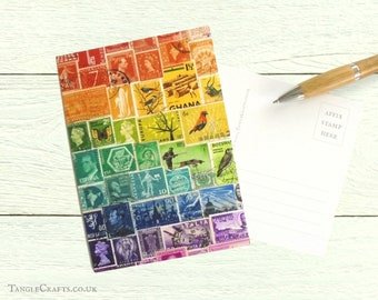 Rainbow Postcards, Set of 8