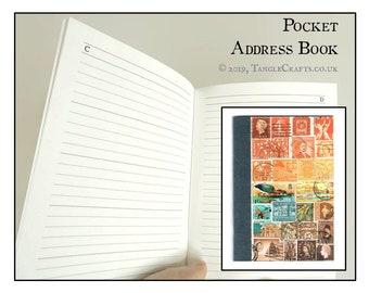 Sunset Heron - Pocket Address Book