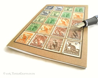 Stamp Album Notebooks