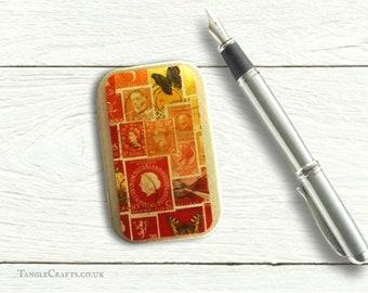 Fire Glow Fridge Magnet & Tiny Tin Gift Set