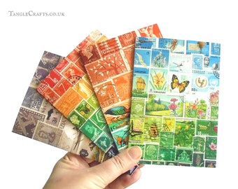 Landscape Collection - Mixed Set of Colourful Stamp Art Note Cards