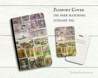 Heather Hills Passport Cover & travel gift set
