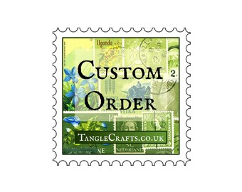 Custom stamp mix