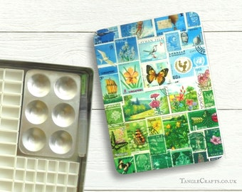 Happy Valley DIY watercolour tin with lift off lid - C5 A5 size
